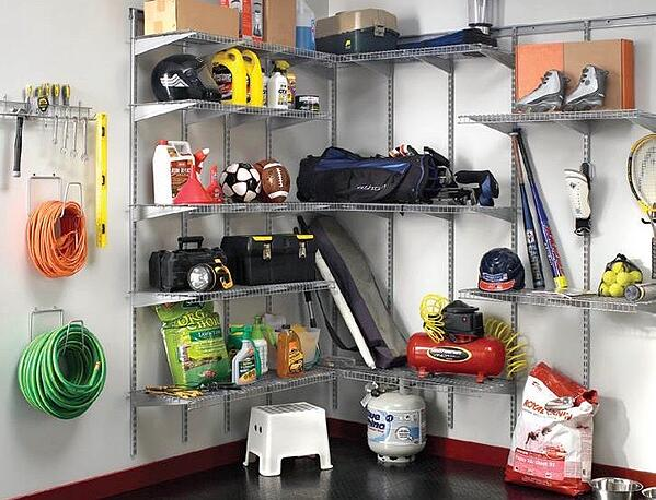Closetmaid Garage Satin Chrome
