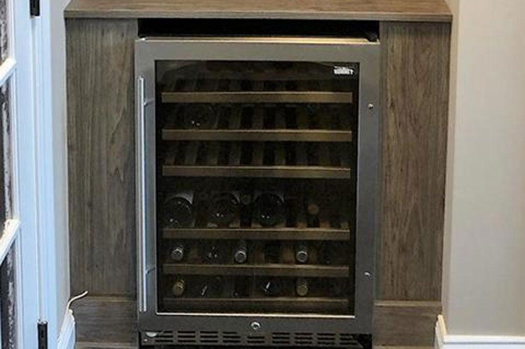 Wine nook solution by Innovative Closet Designs