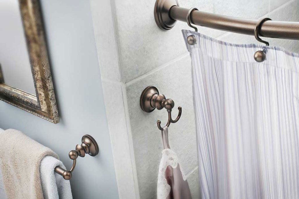 Innovative Closet Designs Bath Solutions: Accessories for the finishing touch