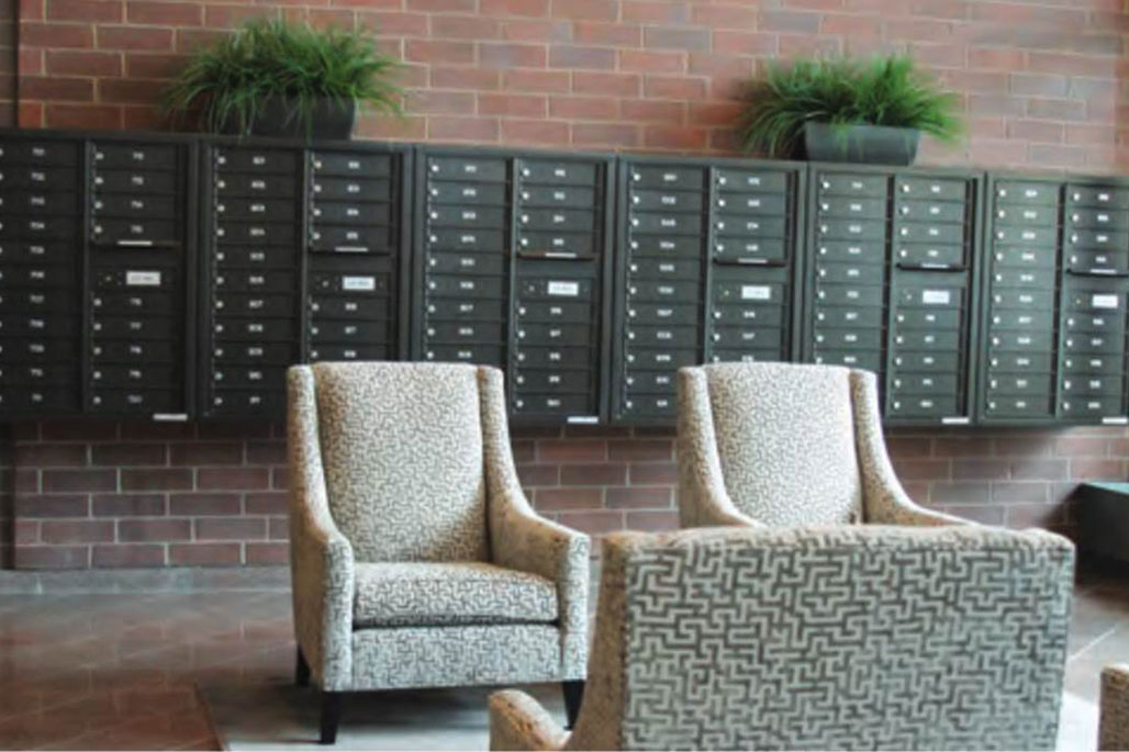 Commercial Common Area Solutions: Mailboxes by Innovative Closet Designs