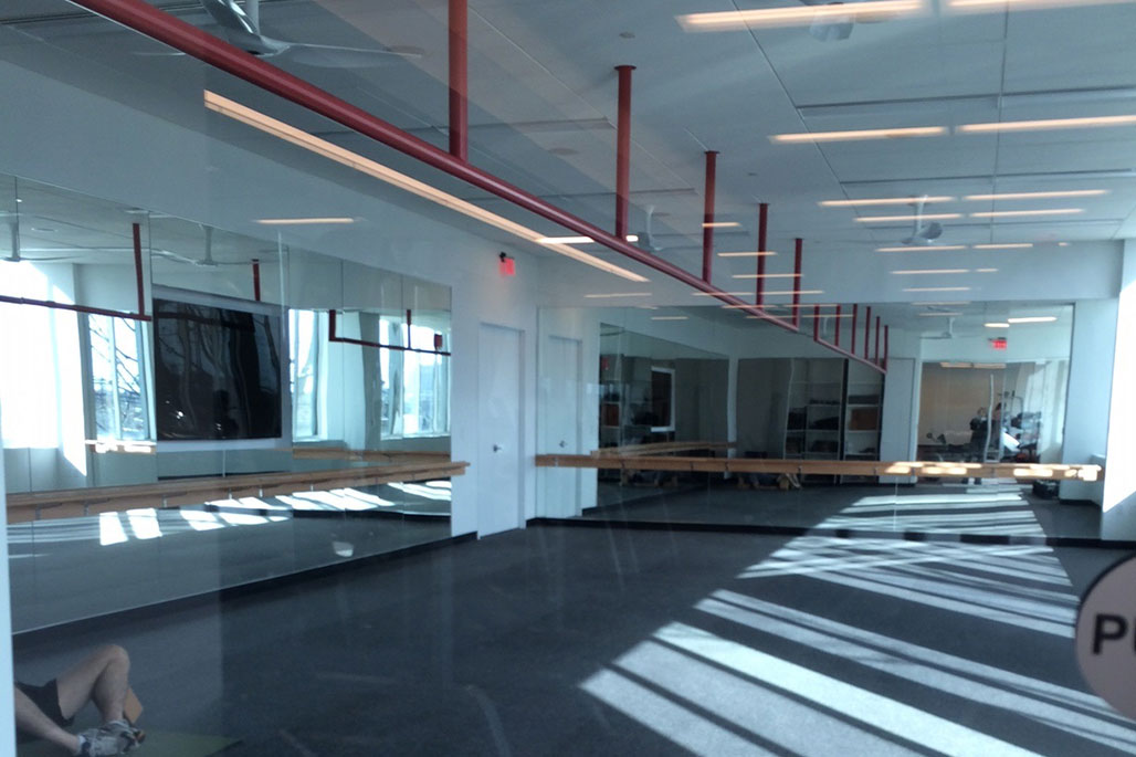 Commercial Common Area Solutions: Custom Mirrors by Innovative Closet Designs