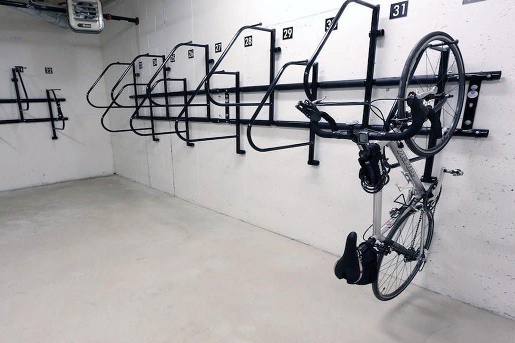 Commercial Common Area Solutions: Bike Racks by Innovative Closet Designs
