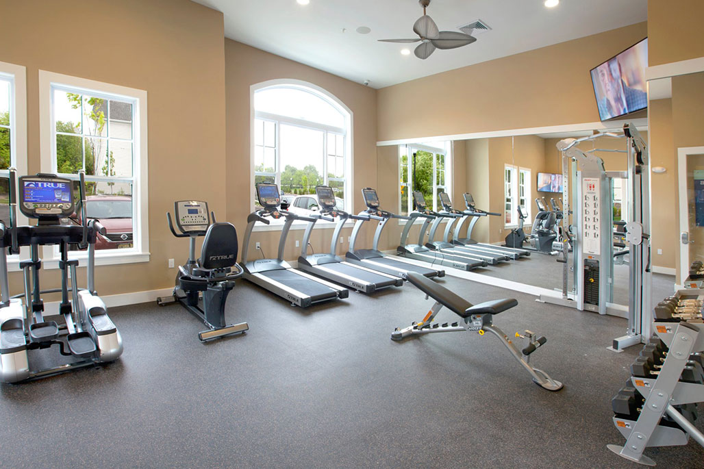 Commercial Common Area Solutions: Gym and Fitness Mirrors by Innovative Closet Designs