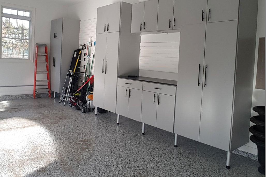 Custom garage solution from Innovative Closet Designs