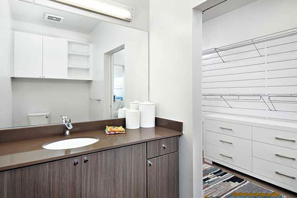 Innovative Closet Designs Commercial In-Unit Bath Solutions: Bath Accessories and Mirrors
