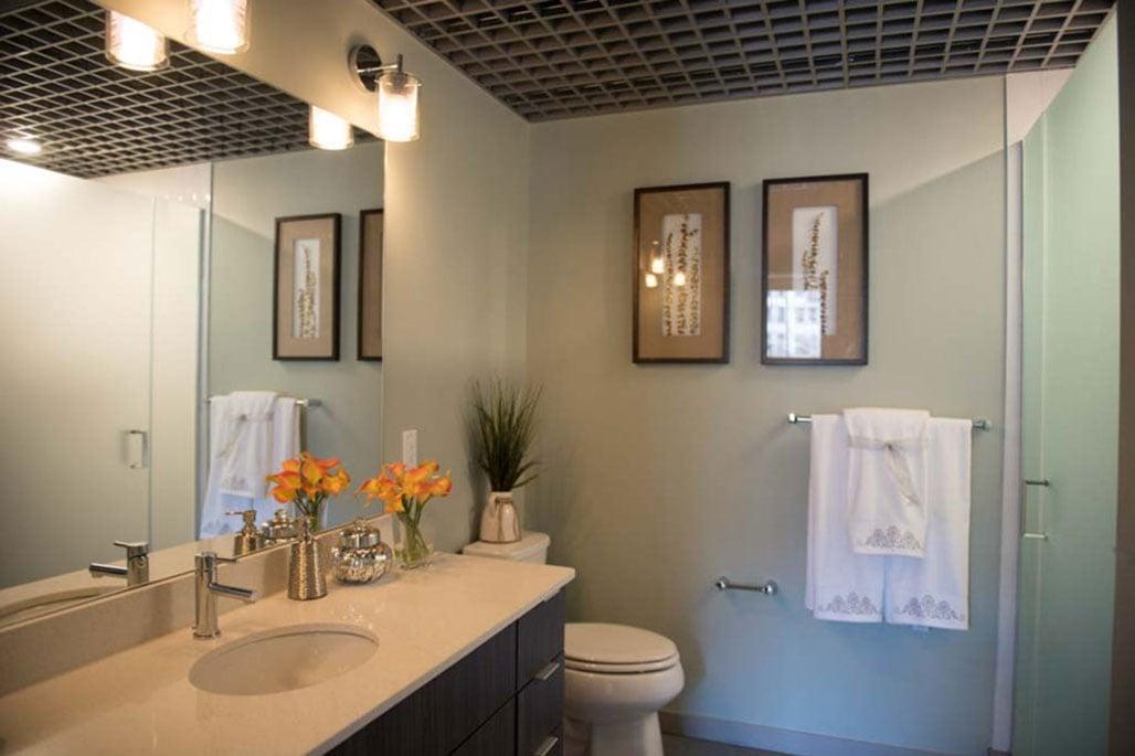 Innovative Closet Designs Commercial In-Unit Bath Solutions: Framed, Semi-Frameless and Frameless Glass Shower Enclosure