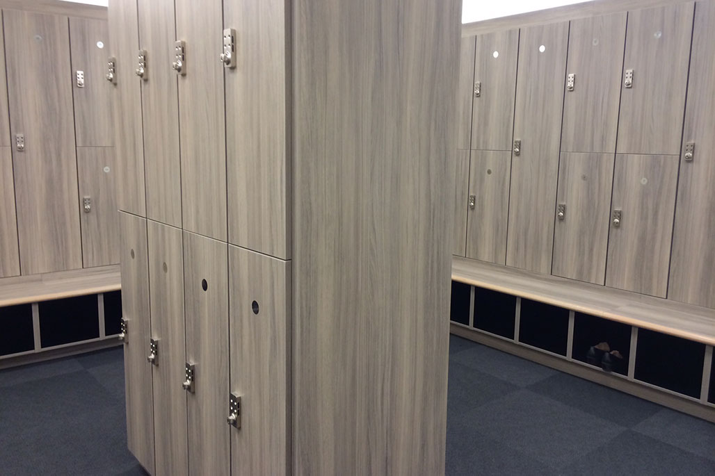 Innovative Closet Designs Commercial In-Unit Storage Solutions: Laminate shelving