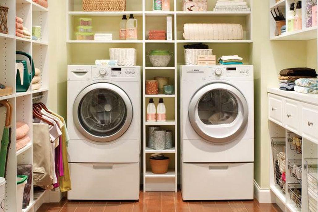 Custom laundry solution from Innovative Closet Designs