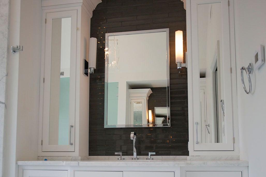 Innovative Closet Designs Mirror Treatments