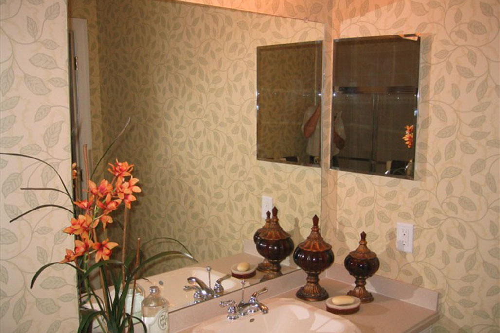 Innovative Closet Designs Beveled Mirror Treatments
