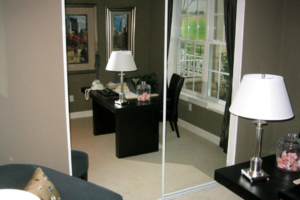 Innovative Closet Designs Polished Mirror Treatments