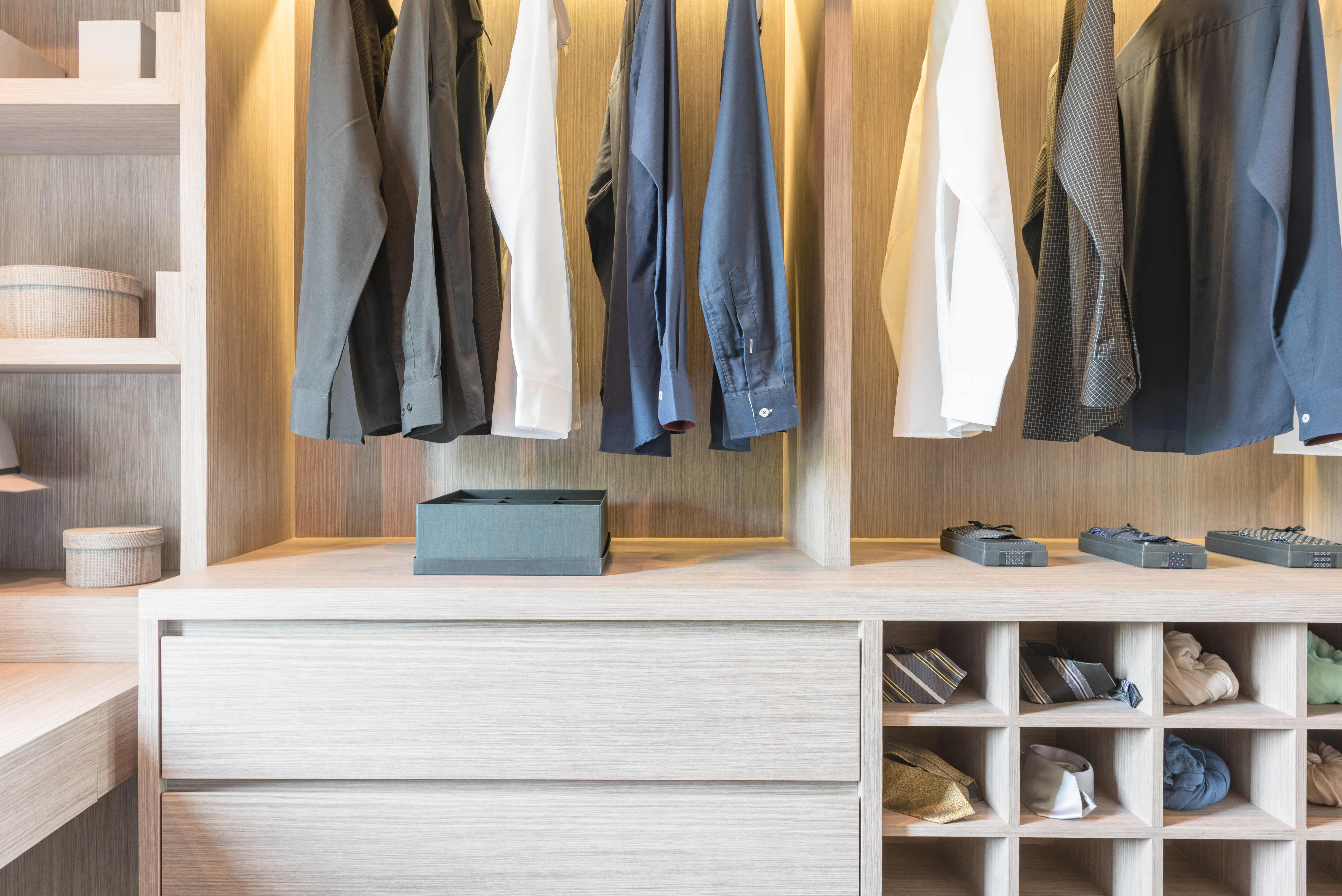 Innovative Closet Designs provides a wide range of organizational solutions