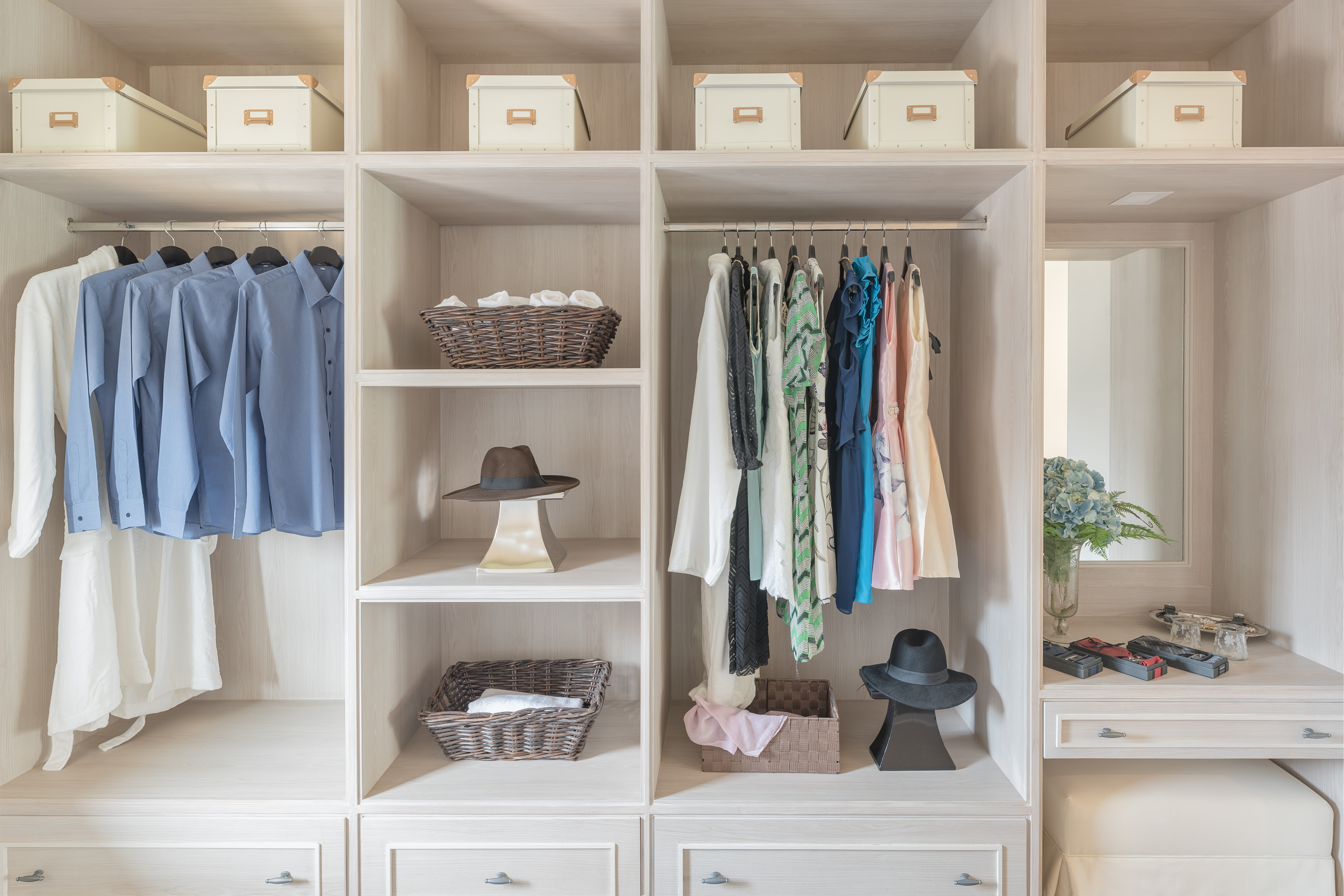 Storage solutions by room offered by Innovative Closet Designs in Wyckoff, New Jersey