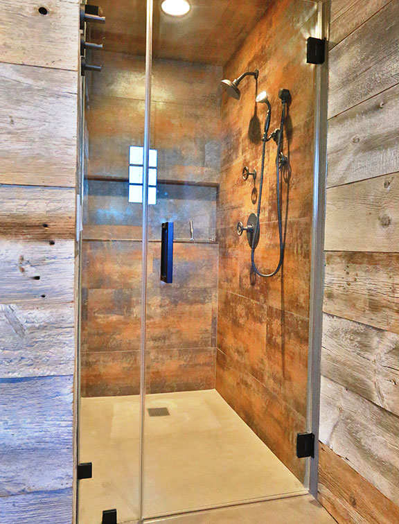 Innovative Closet Designs Bath Solutions: Custom showers and shower enclosures