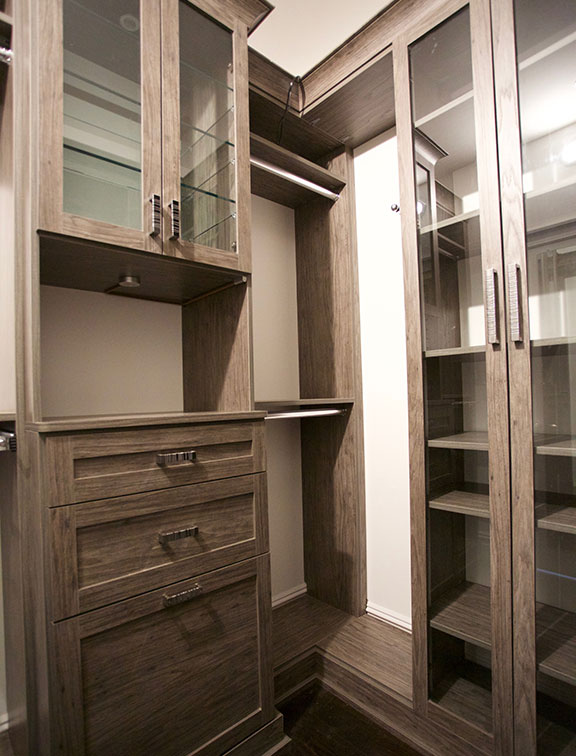 Stargazer walk in closet solution from Innovative Closet Designs