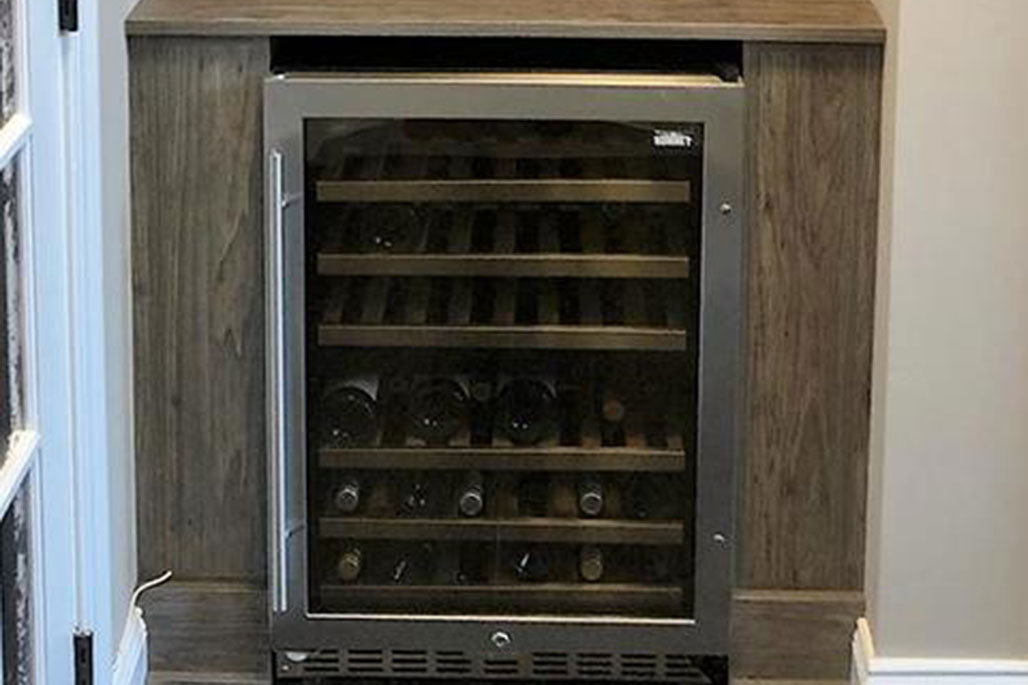 Wine nook solution by Innovative Closet Designs