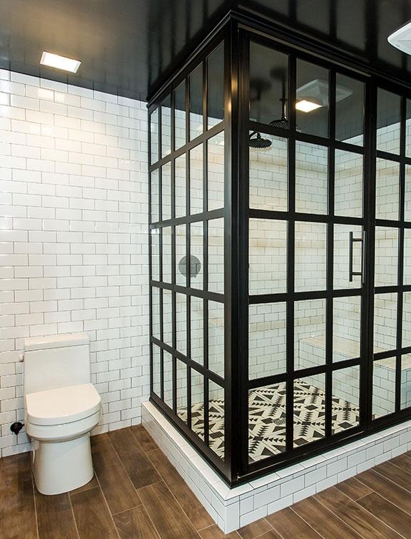 Innovative Closet Designs Bath Solutions: Custom shower enclosures