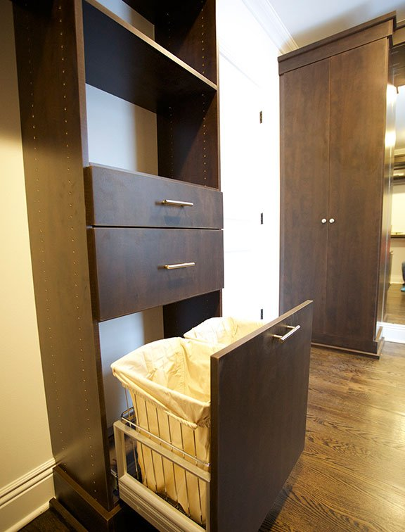 Custom closet solution from Innovative Closet Designs