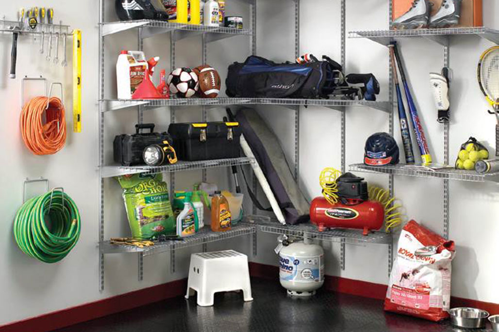 Custom garage solution from Innovative Closet Designs