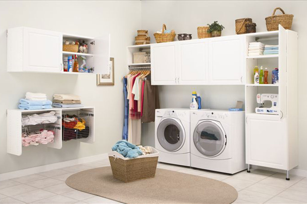 Custom laundry solution from Innovative Closet Designs