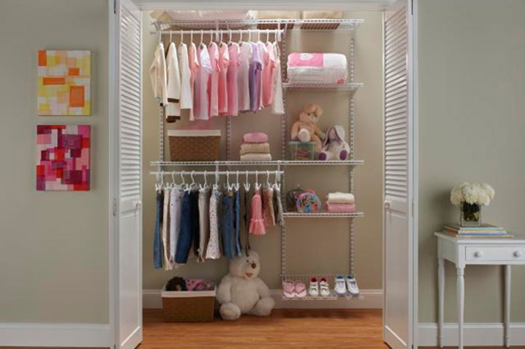 Custom ventilated wire system from Innovative Closet Designs