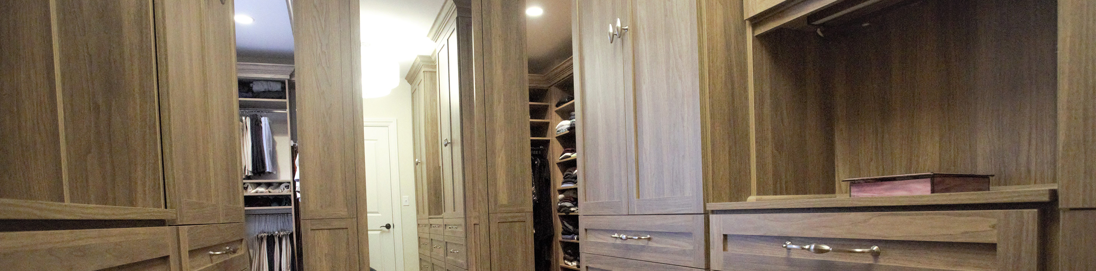 Innovative Closet Design's completed projects closet, storage, bath & organization inspiration to inspire homeowners.